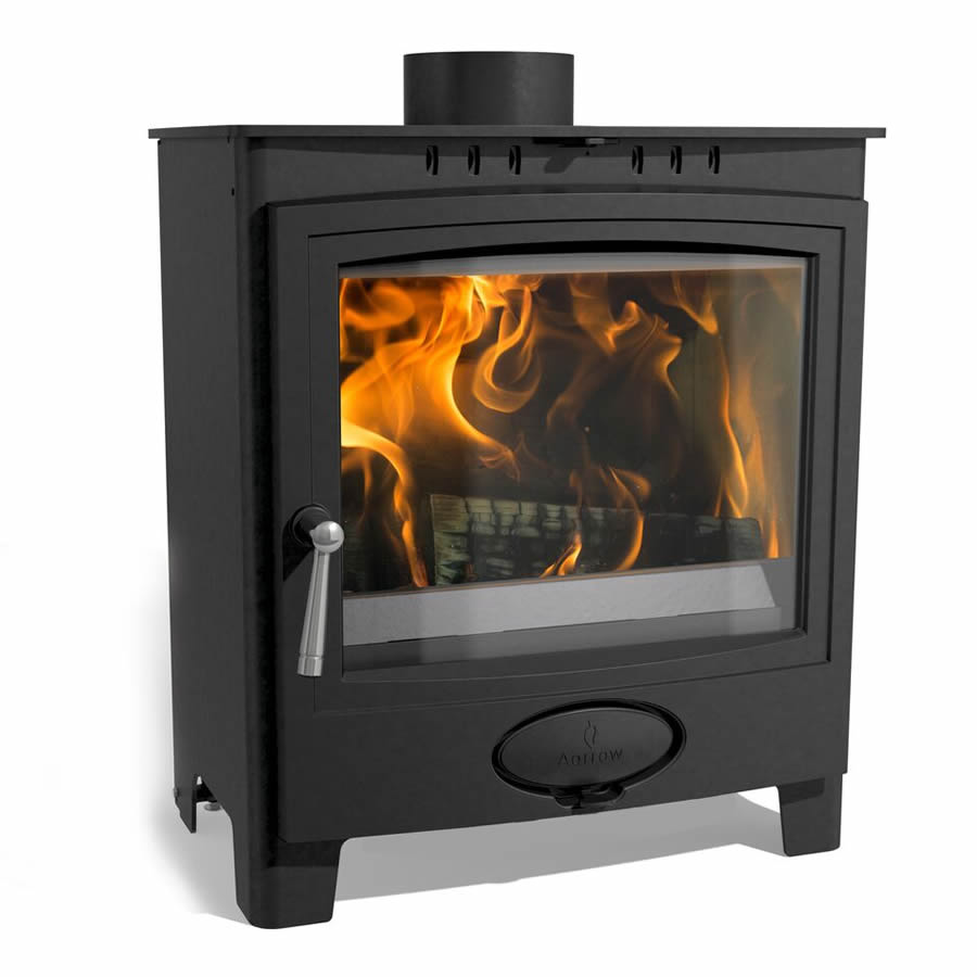 Aarrow Ecoburn Plus 5 - Multi Fuel and Wood Burning Stove from Natural Heating